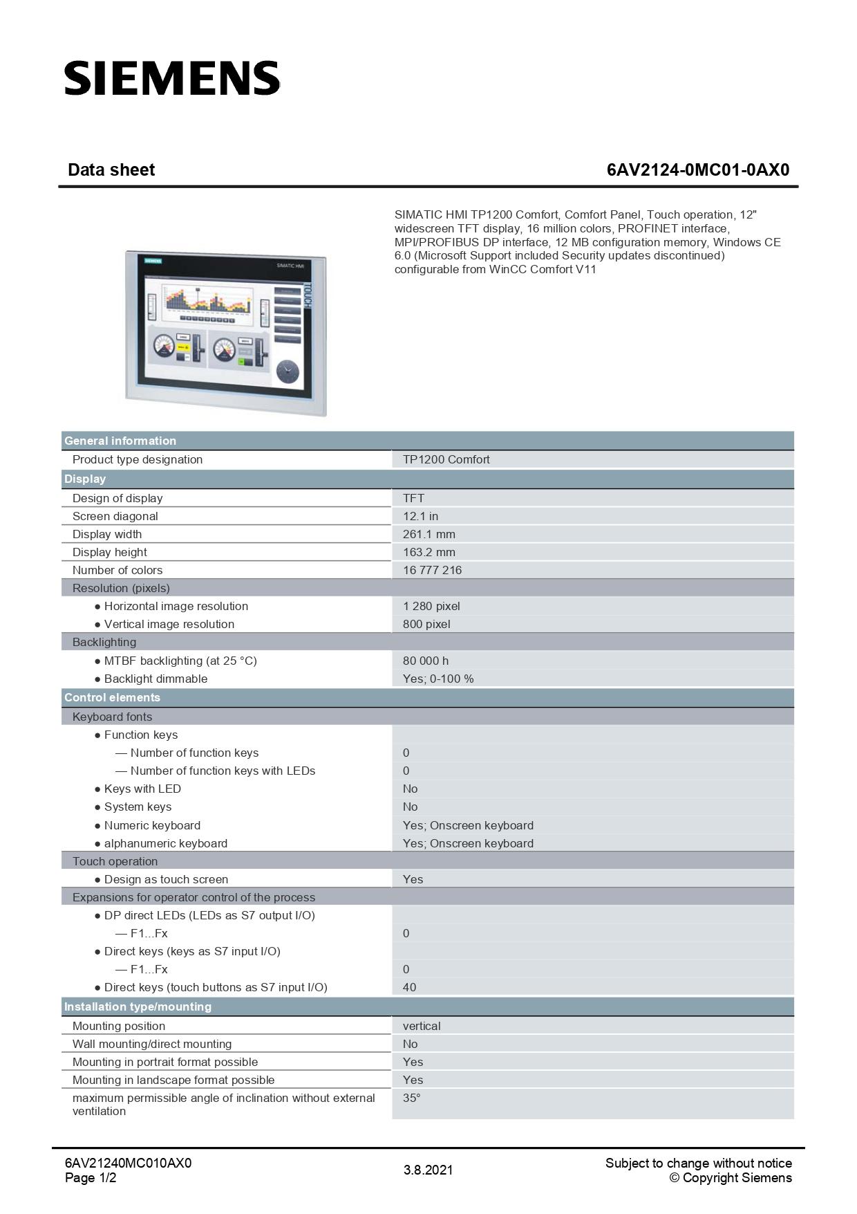 6AV2124-0MC01-0AX0_datasheet