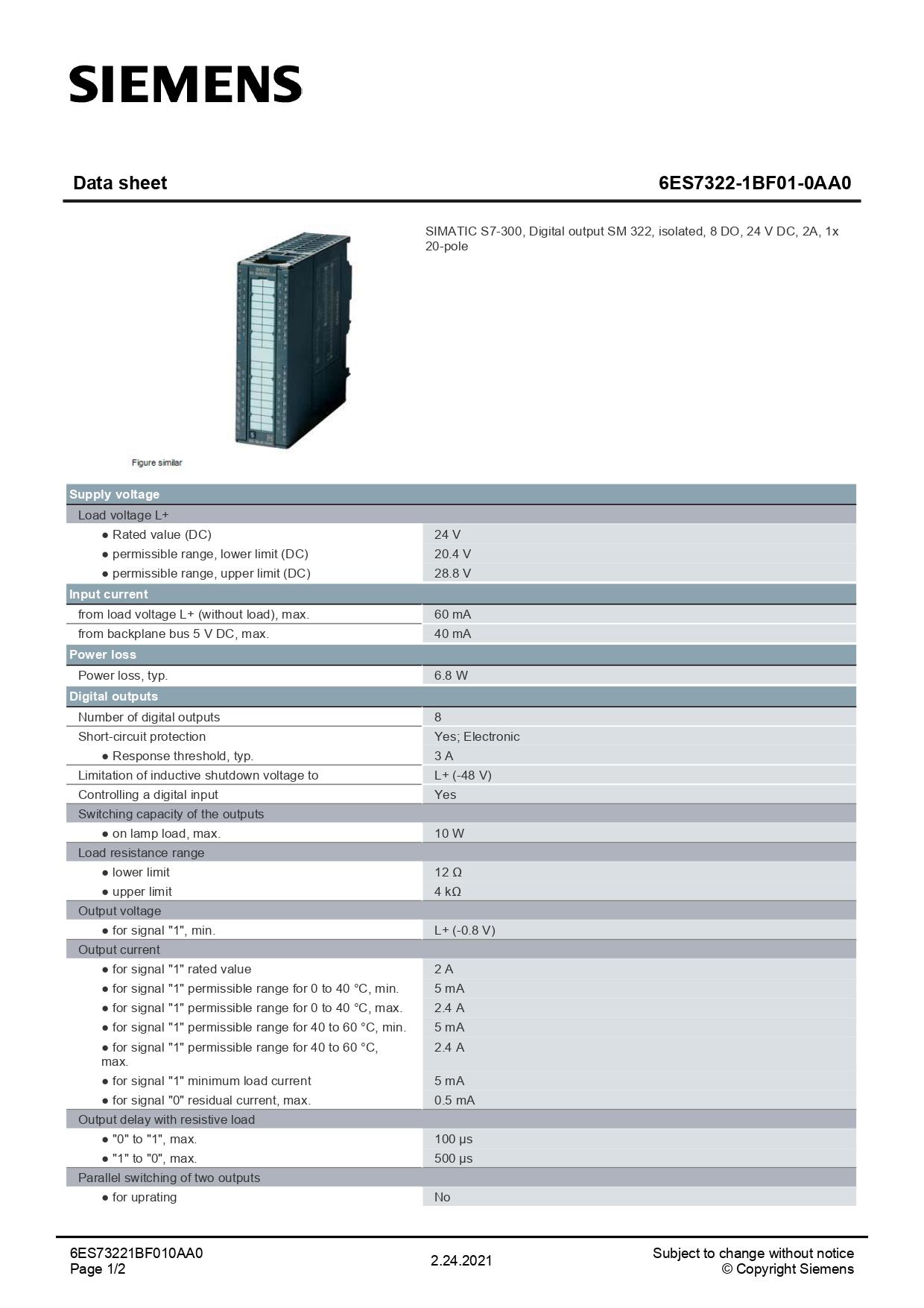 6ES7322-1BF01-0AA0