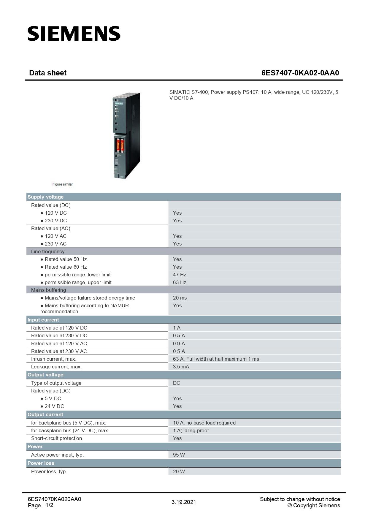 6ES7407-0KA02-0AA0_datasheet