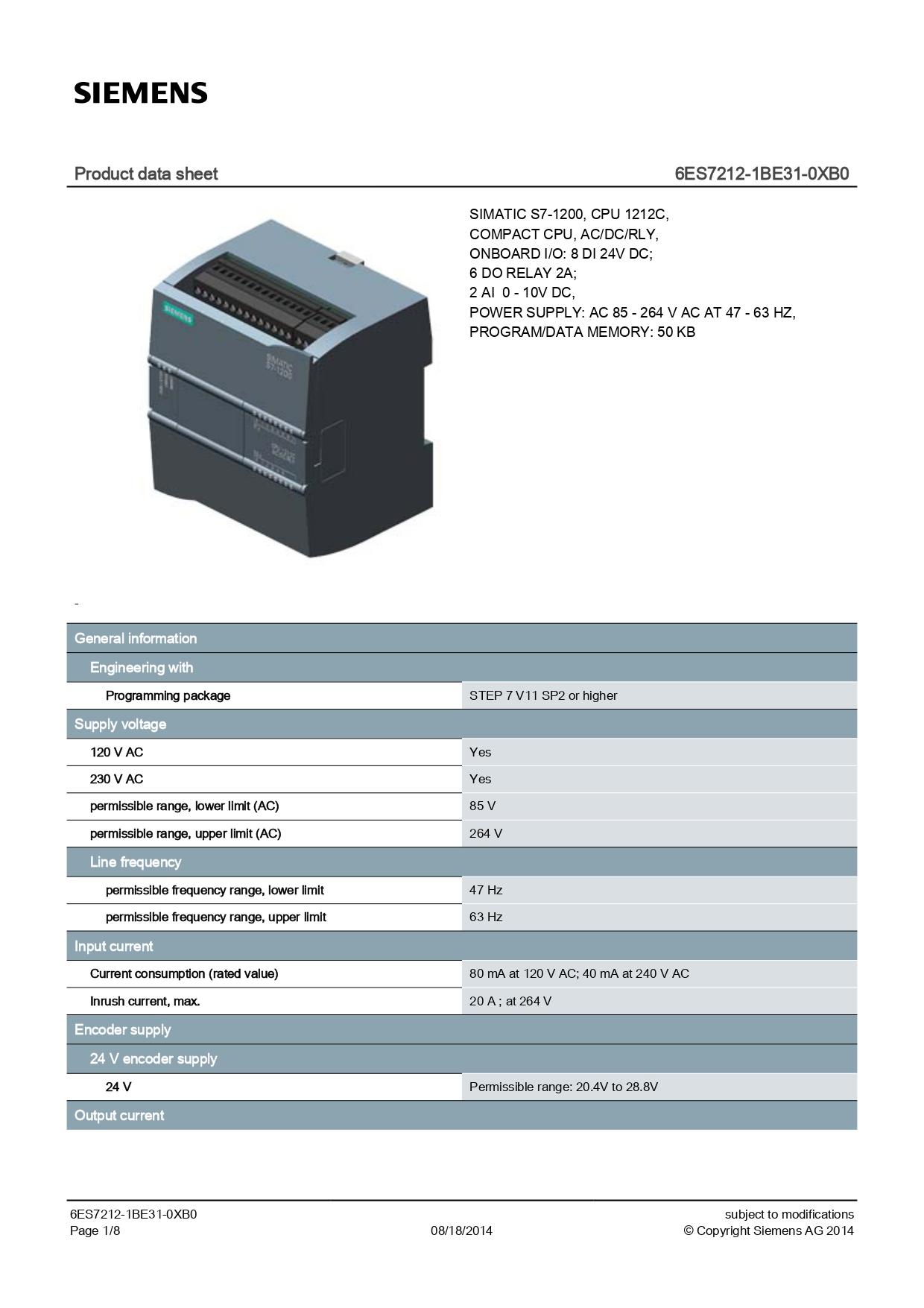 6ES7212-1BE31-0XB0_datasheet