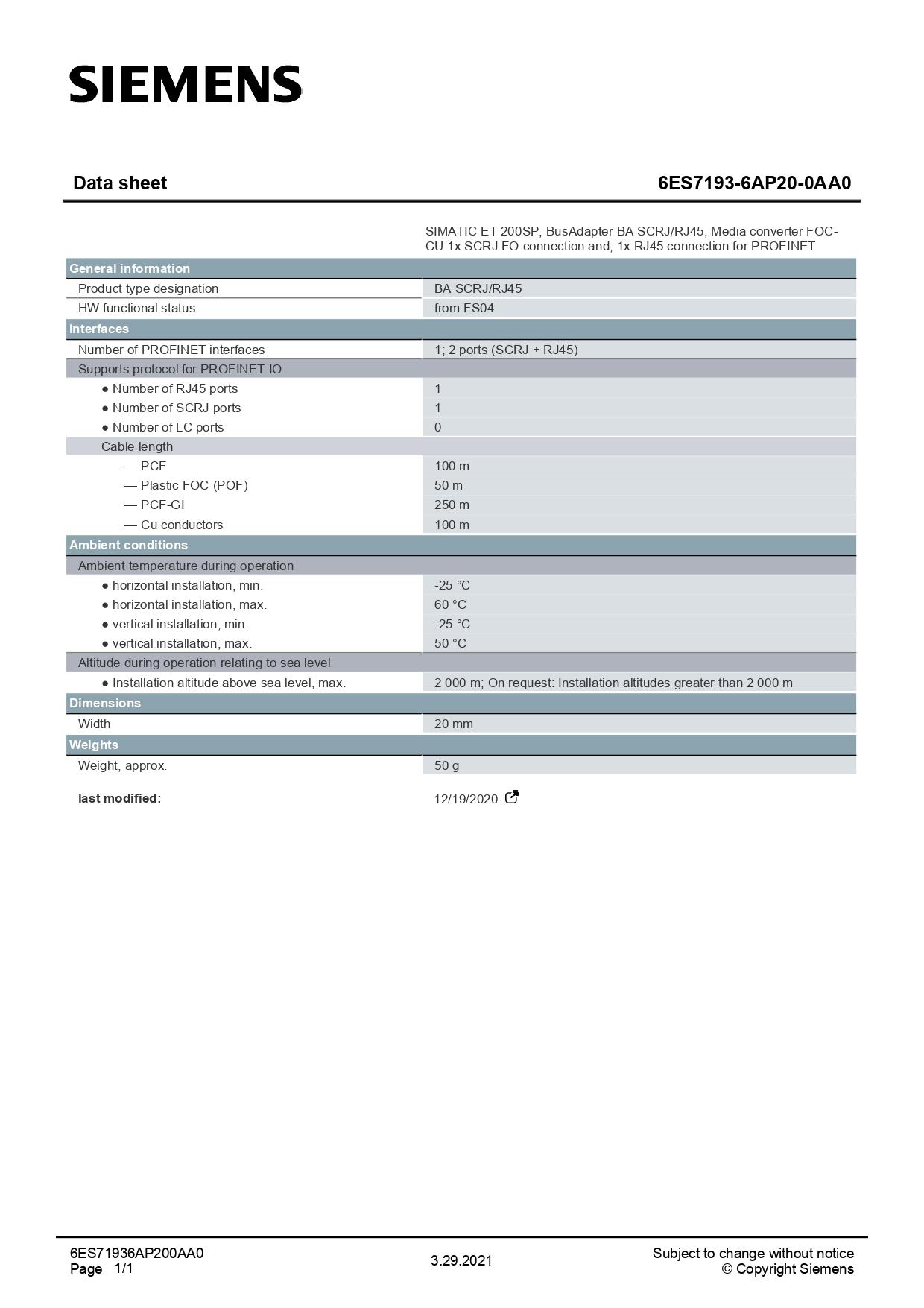 6ES71936AP200AA0_datasheet